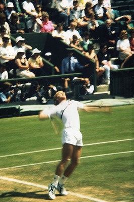 Boris Becker Serve